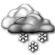 Mostly Cloudy with Light Snow Showers Likely