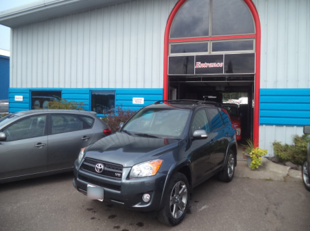 Rav4 Toyota After Repairs