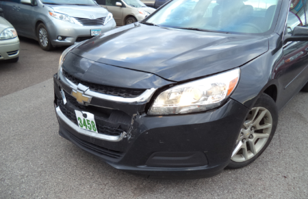 2014 Chevrolet Malibu Before Repairs