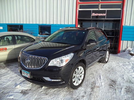 Black Buick After Repairs