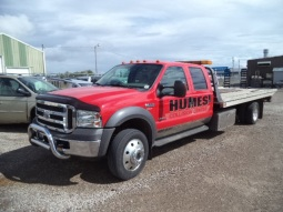 Humes Collision Towing Truck