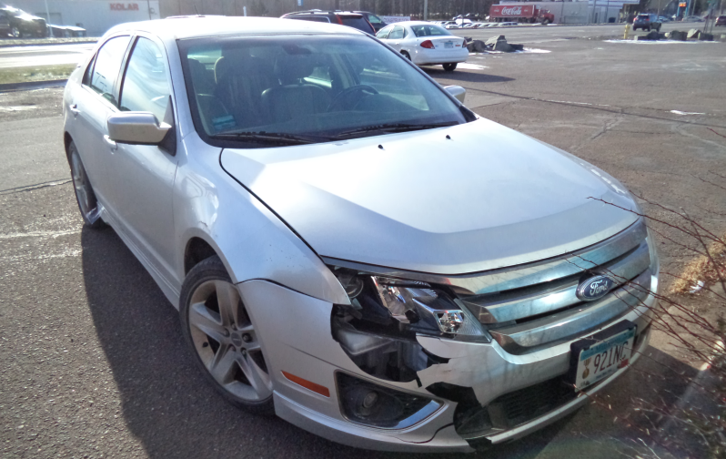 2011 Ford Fusion Before Repairs