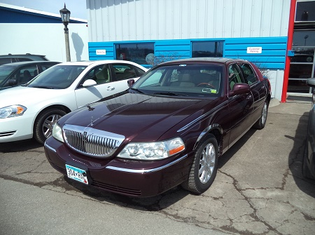 Burgandy Buick-After Repairs
