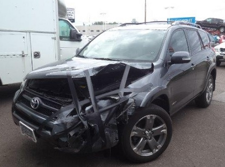 Rav4 Toyota Before Repairs